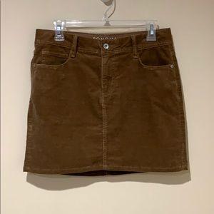 Sonoma corduroy skirt